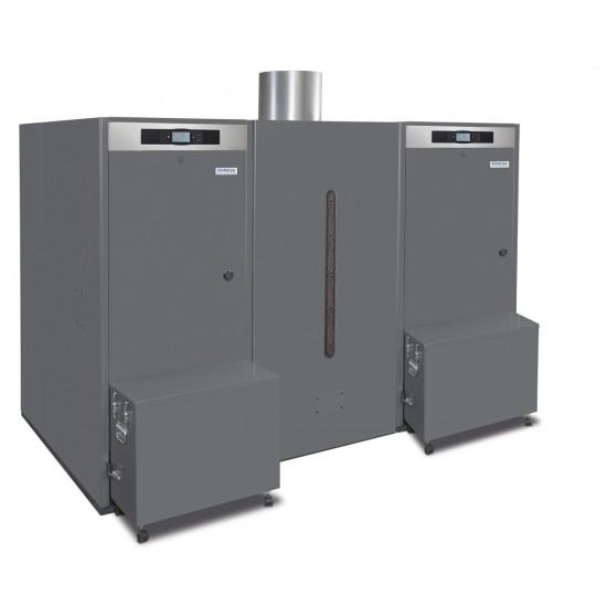 BioClass HC professzionális pellet kazán 132 kW