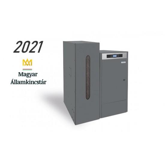 BioClass professzionális pellet kazán 18 kW állami támogatással