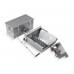 Automata hamueltávolító, hamu tömörítő BioClass 10 kW-os pellet kazánhoz