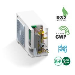 Domusa Dual Clima R 6 kW-os levegő-víz hőszivattyú (fűtő-hűtő-melegvíz készítés)
