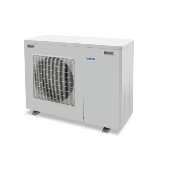 50%-os állami támogatási rendszerrel megvalósítható 8 kW-os Levegő-Víz hőszivattyús rendszer fűtésre, és vagy hűtésre, használati melegvíz ellátásra komplett beüzemeléssel