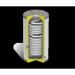 Domusa SANIT HE DS 200 saválló használati melegvíz tartály 2 hőcserélővel