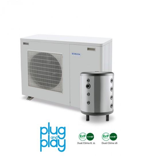 50%-os állami támogatási rendszerrel megvalósítható 8 kW-os Levegő-Víz hőszivattyús rendszer fűtésre, hűtésre, komplett beüzemeléssel