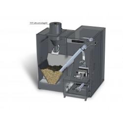 BioClass professzionális pellet kazán 66 kW